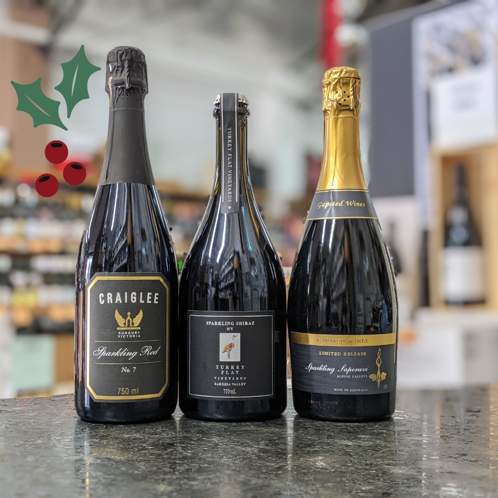 What's Sparkling? </br> Aussie Christmas </br> Sparkling Reds